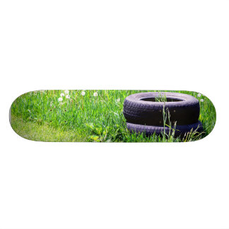 Abandoned Tires Skateboard