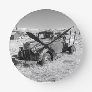 Abandoned Truck Clock