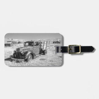 Abandoned Truck Luggage Tag