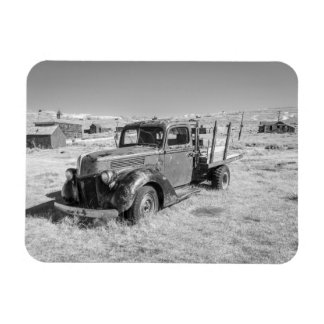 Abandoned Truck Magnet Rectangular Photo Magnet