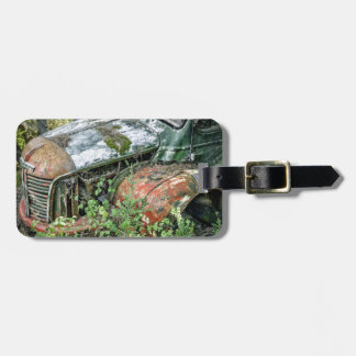 Abandoned Vintage Truck Luggage Tag