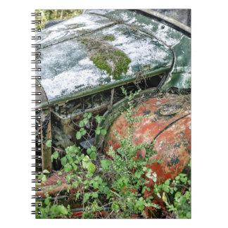 Abandoned Vintage Truck Notebook