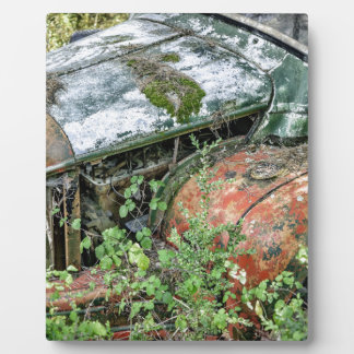 Abandoned Vintage Truck Plaque