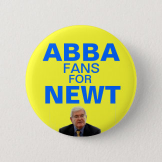 Abba fans for Newt Gingrich button