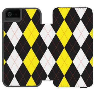 Abba Zabbabuzz Argyle Wallet Case Incipio Watson™ iPhone 5 Wallet Case