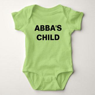 """Abba's Child"" Baby Jersey Bodysuit"