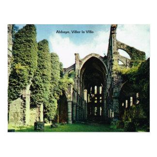 Abbaye, Viller la VIlle Postcard