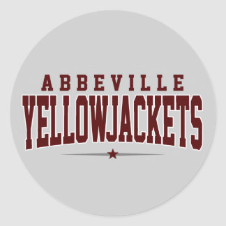 Abbeville High School; Yellowjackets Sticker