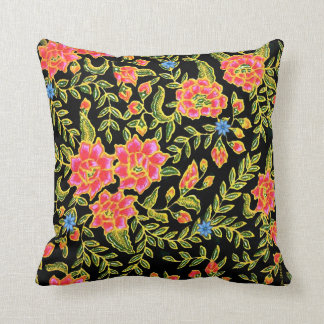 """Abbey Garden"" Throw Pillow"