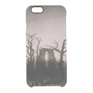 Abbey in the Oakwood, 1810 Clear iPhone 6/6S Case