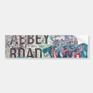 Abbey Road Sign Bumper Sticker