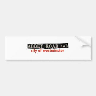Abbey Road Westminster Bumper Sticker