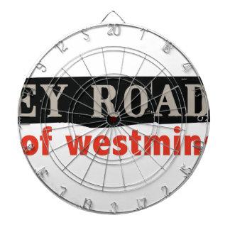 Abbey Road Westminster Dartboard
