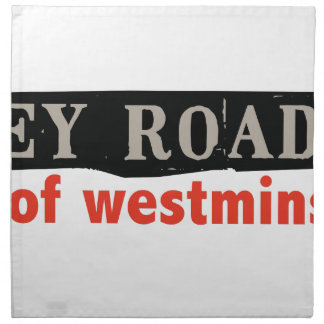 Abbey Road Westminster Napkin