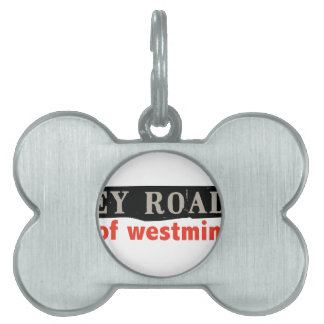 Abbey Road Westminster Pet Tags