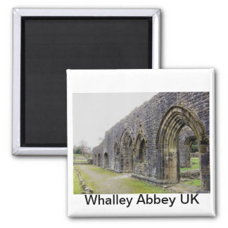 Abbey ruins magnet