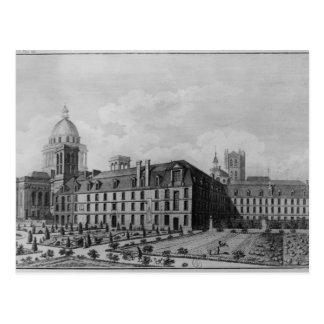 Abbey Saint-Genevieve, Paris Postcard