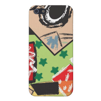 Abbistract skin iPhone 5/5S case