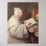 Abbot Armand-Jean le Bouthillier de Rance Poster