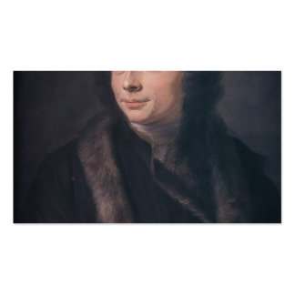 Abbot Jean Jacques Huber by Maurice de La Tour Pack Of Standard Business Cards