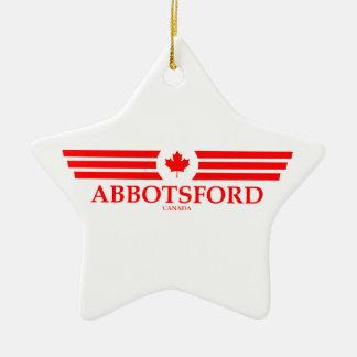 ABBOTSFORD CERAMIC ORNAMENT