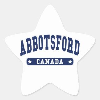 Abbotsford Star Sticker