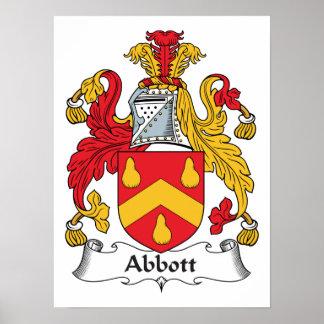 Abbott Family Crest Poster