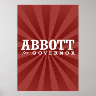 ABBOTT FOR GOVERNOR 2014 POSTER