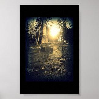 Abbott Grave in Madison Poster