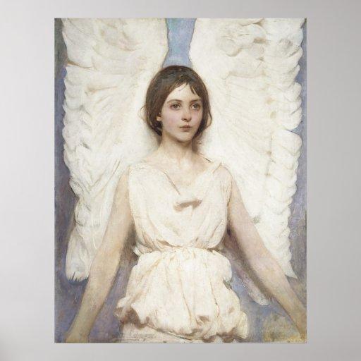 Abbott Handerson Thayer - Angel Poster