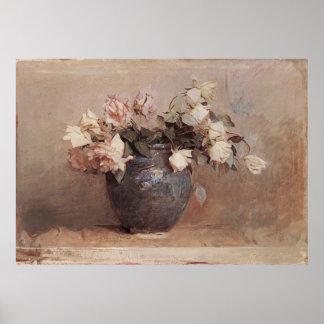 Abbott Handerson Thayer Roses Poster