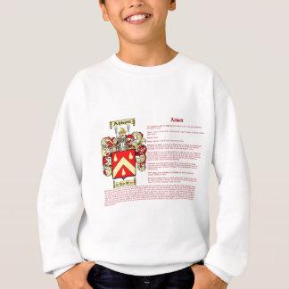 Abbott (irish(meaning) sweatshirt