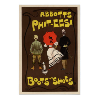 Abbotts Phit-Eesi Boots and Shoes Print