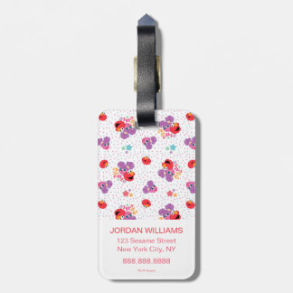 Abby And Elmo 2 Cute Pattern Luggage Tag