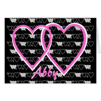 Abby b-day card