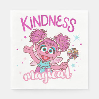Abby Cadabby - Kindness is Magical Disposable Serviette