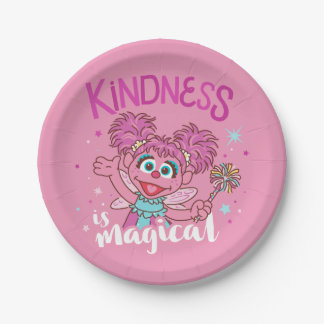 Abby Cadabby - Kindness is Magical Paper Plate