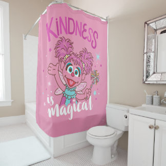 Abby Cadabby - Kindness is Magical Shower Curtain
