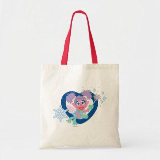 Abby Cadabby Snowflake Tote Bag