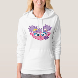 Abby Face Throwing a Kiss Hoodie