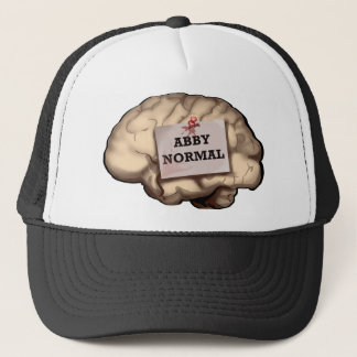 Abby Normal Brain Trucker Hat