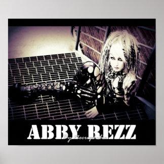 Abby Rezz by Necro Philia Poster