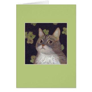 Abby the Cat Card