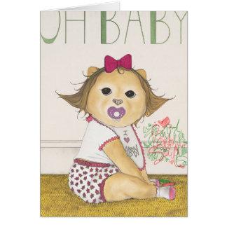 Abby, the Pomeranian Card