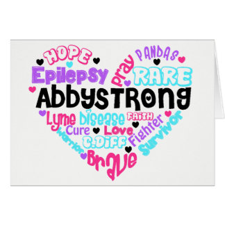 AbbyStrong Stationary Card