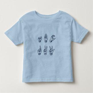 ABC 123 (ASL) TODDLER T-Shirt