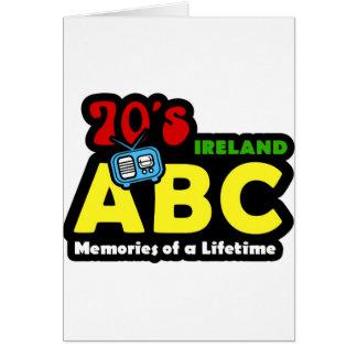 ABC 70s Ireland Radio Card