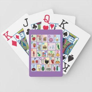 "abc, abc's, learning, school, colors, ""learning th bicycle playing cards"
