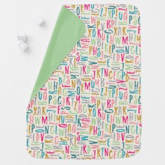ABC Alphabet Unisex Baby Blanket