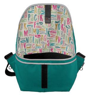 ABC Alphabet Unisex Diaper Bag Messenger Bag